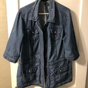 Lane Bryant jean shirt size 18/20